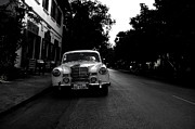 Style Photos - 1957 Mercedes Sedan in Luang Prabang Laos by Julia Hiebaum