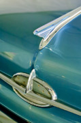 Historic Vehicle Photo Prints - 1957 Oldsmobile Hood Ornament 5 Print by Jill Reger
