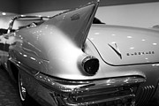 Black And White Photographs Photos - 1958 Cadillac Eldorado Biarritz Convertible . Black and White by Wingsdomain Art and Photography
