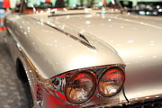 Sportscar Photos - 1958 Cadillac Eldorado Biarritz Convertible . Silver . 7D9422 by Wingsdomain Art and Photography