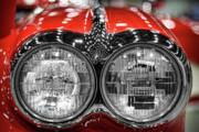 Headlight Digital Art - 1958 Chevrolet Corvette  by Gordon Dean II