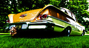 Phil Motography Clark Posters - 1958 Chevrolet DelRay Poster by Phil