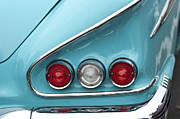 1958 Chevrolet Impala Framed Prints - 1958 Chevrolet Impala Taillights  Framed Print by Jill Reger