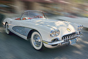 1958 Corvette Print by Gerry Mann
