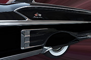 Motors Framed Prints - 1958 Impala Framed Print by Susan Candelario