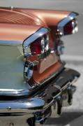 Bonneville Pictures Photos - 1958 Pontiac Bonneville Taillights by Jill Reger