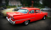 Paint Photograph Prints - 1958 Red Classic Print by Perry Webster