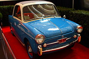 Transportation Photo Prints - 1959 Autobianchi Bianchina Transformabile Print by Wingsdomain Art and Photography