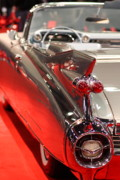 Classic Car Prints - 1959 Cadillac Convertible . Wing View Print by Wingsdomain Art and Photography