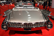 Transportation Prints - 1959 Cadillac Eldorado Convertible . Rear View Print by Wingsdomain Art and Photography