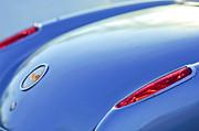 1959 Chevrolet Corvette Taillight Emblem Print by Jill Reger