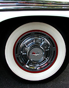 Digital Photography - 1959 Chevrolet Impala Rim by Peter Piatt