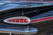 1959 Chevrolet Posters - 1959 Chevrolet Impala Tail Light 2 Poster by Jill Reger