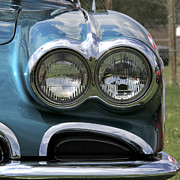 Trio Photo Originals - 1959 Corvette headlight by Marta Alfred