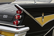 Tail Light Posters - 1959 DeSoto Adventurer Convertible Tail Light Emblem Poster by Jill Reger