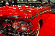 American Car Art - 1959 Edsel Corsair Convertible . Red . 7D9241 by Wingsdomain Art and Photography