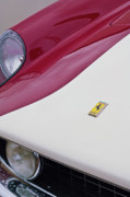 Collector Hood Ornament Posters - 1959 Ferrari 250 GT Emblem Poster by Jill Reger
