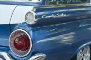 Fifties Automobile Photos - 1959 Ford Country Sedan Tail Light by Jill Reger