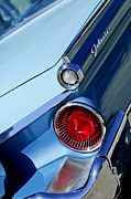 Jill Reger Prints - 1959 Ford Skyliner Convertible Taillight Print by Jill Reger