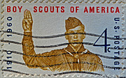 Bsa Photos - 1960 Boy Scouts Stamp by Bill Owen