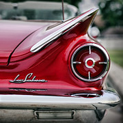 Tail Digital Art Prints - 1960 Buick LeSabre Print by Gordon Dean II