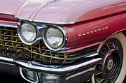 1960 Photos - 1960 Cadillac Eldorado Head Light by Jill Reger