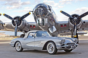 1960 Photos - 1960 Chevrolet Corvette by Jill Reger