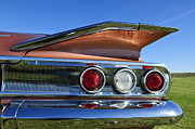 1960 Prints - 1960 Chevrolet Impala Resto Rod Taillight Print by Jill Reger