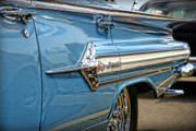 Gratiot Digital Art Originals - 1960 Chevy Impala by Gordon Dean II