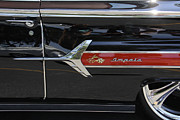 Classic Automobile Prints - 1960 Chevy Impala Print by Mike McGlothlen