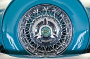 1960 Prints - 1960 Ford Thunderbird Spare Tire Print by Jill Reger