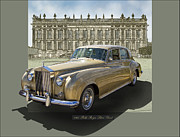 Rolls Royce Digital Art - 1960 Rolls Royce Silver Cloud by Roger Beltz