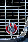 Hawk Photographs Prints - 1960 Studebaker Hawk Coupe Emblem Print by Jill Reger