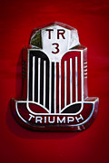 1960 Triumph Tr3a Print by David Patterson