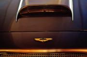 1961 Aston Martin Db4 Coupe Emblem Print by Jill Reger
