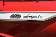 Red Impala Prints - 1961 Chevrolet Impala SS Convertible . 5D16267 Print by Wingsdomain Art and Photography