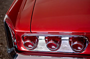 Tail Lights Photos - 1961 Pontiac Bonneville Tri-Power Convertible Taillights by Jill Reger