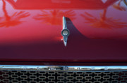 Hoodies Prints - 1961 Rambler Hood Ornament 2 Print by Jill Reger