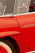 Beach Photograph Photos - 1962 Mercedes-Benz 300 SL Roadster by Jill Reger