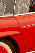 1962 Mercedes-benz 300 Sl Roadster Print by Jill Reger