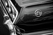 Side Panel Prints - 1963 Chevrolet Impala SS Black and White Print by Gordon Dean II