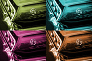 For Digital Art Originals - 1963 Chevrolet Impala SS Offset Colors by Gordon Dean II