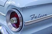 1963 Ford Prints - 1963 Ford Falcon Convertible Taillight Print by Jill Reger