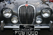 1963 Posters - 1963 Jaguar MKII Grill Poster by Paul Ward