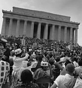 Discrimination Photo Prints - 1963 March On Washington. View Print by Everett
