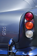 Tail Light Posters - 1965 Aston Martin DB5 Coupe RHD Tail Light Poster by Jill Reger