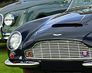 1965 Metal Prints - 1965 Aston Martin DB6 Short Chassis Volante Metal Print by Jill Reger