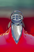 Hoodies Photo Framed Prints - 1965 Buick Riviera Hood Ornament Framed Print by Jill Reger