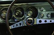 1965 Chevrolet Chevelle Malibu Ss Steering Wheel Print by Jill Reger