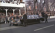 Lady Washington Prints - 1965 Inauguration Parade. Lyndon Print by Everett
